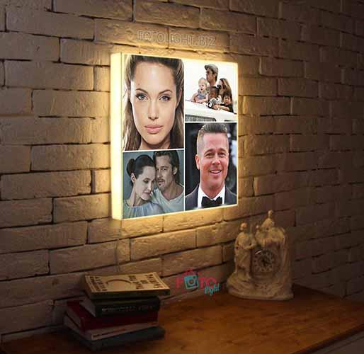 Фото-светильники на заказ от 1го дня