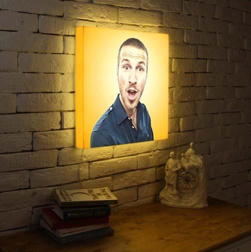 Фото-светильник для любимого от 2 500 руб