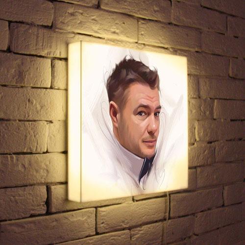 Портрет по фото теперь может светиться
