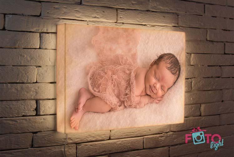 Детский ночник с фото на заказ от 1го дня
